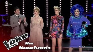 """Team """"AlBano"""" #1 - Knockouts - The Voice of Italy 2018"""