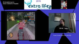 Extra Life 2015: Part 16A - Grand Theft Auto III