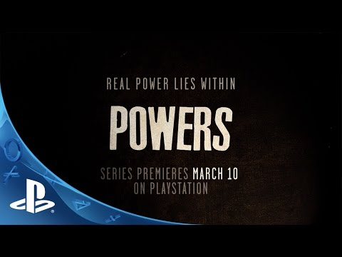 Powers: A PlayStation Original Series | Official Trailer from YouTube · Duration:  41 seconds