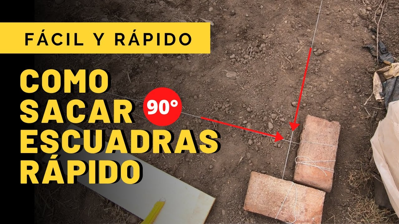 Download 📐Como SACAR una ESCUADRA PERFECTA ✅ RÁPIDO y FÁCIL - PROYECTO SUSTENTABLE ÑAMKU
