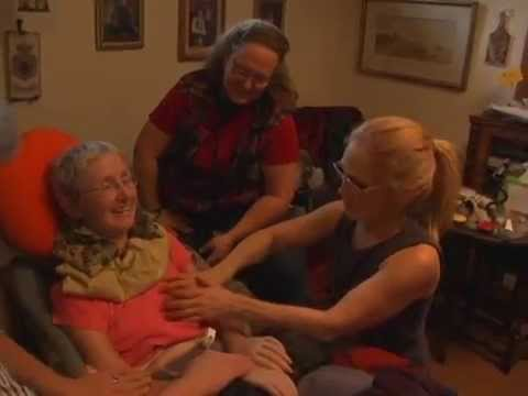 PALLIATIVE MASSAGE - CHRONIC ILLNESS (ALS/MS) - MARY - NELSON BC