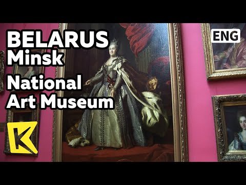 【K】Belarus Travel-Minsk[벨라루스 여행-민스크]국립 미술 박물관/National Art Museum/Painting/Portrait