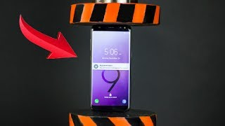 HYDRAULIC PRESS VS SAMSUNG GALAXY S9 AND TOYS | The Crusher