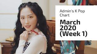 Gambar cover TOP 30 • ADMIN'S K POP SONG CHART (MARCH 2020 - WEEK 1)