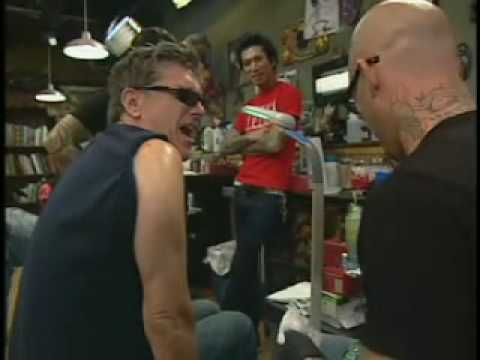 Craig Ferguson Gets His First Tattoo Youtube