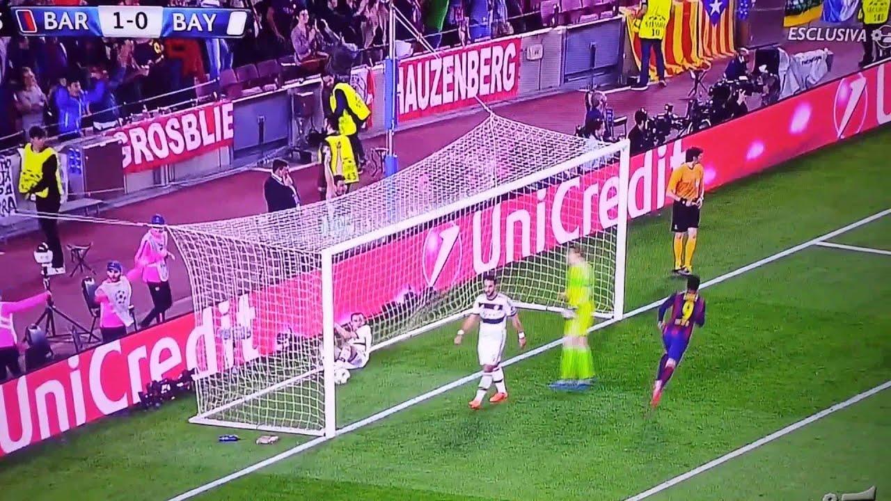 Barcellona Bayern Monaco 3 0 Sandro Piccinini Youtube