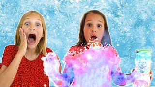 Frozen magic dust story with Amelia, Avelina and Akim