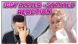 Iggy Azalea - Started (Official Music Video) Reaction Video