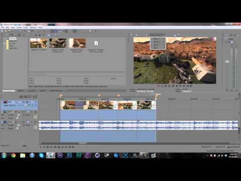 how to add velocity switches in sony vegas