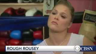 when ronda rousey walks into the ufc cage she tells herself that she deserves to win