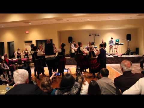St.Luka Serbian Orthodox Church Folklore Ensemble - St.Sava Celebration January 26, 2013.