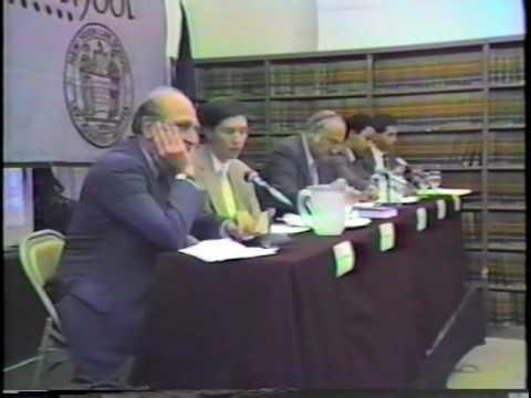 Hon. Roger J. Miner Speaks on NYLS Bicentennial Series Privacy Panel
