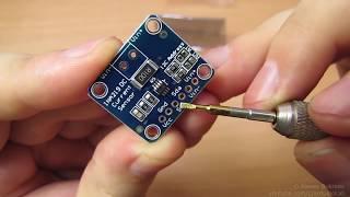 I²C вольтметр и амперметр, модуль на INA219