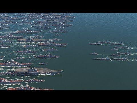 RUSSIA vs UKRAINE Naval Battle - DCS World 2.5 (4K Gameplay)