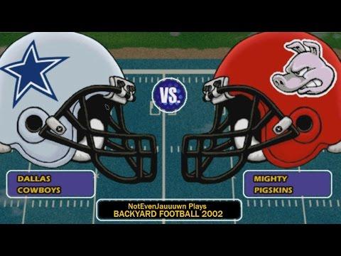 backyard football 2002 game 4 dallas cowboys vs pittsburgh steelers