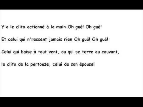 chanson paillarde - Le clito (parodie)