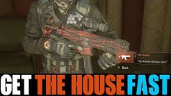 THE DIVISION - 5 EASIEST WAYS TO GET THE HOUSE | HOW TO GET THE HOUSE (NEW SMG) FAST