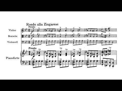 Brahms - Piano Quartet No.1 In G Minor, Op.25