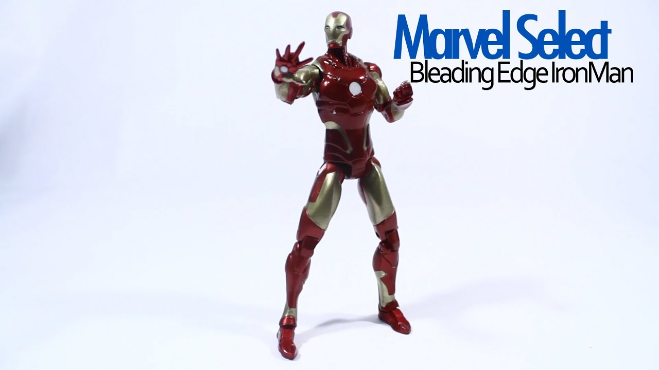 Marvel Select Iron Man Bleeding Edge Armor Action Figure Review