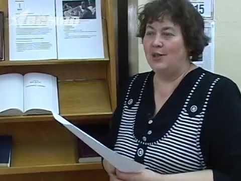 Видеосюжет пресс-службы ВСМПО о книжных выставка библиотеки к Году литературы