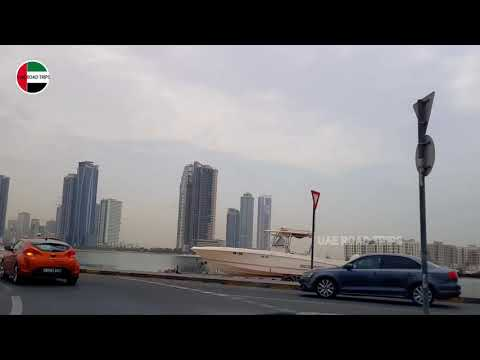 AL KHAN | ROLLA | CORNISH |  AL MAJAZ | AL TAAWUN | AL NAHDA |  SHARJAH | SHARJAH ROAD VIDEO