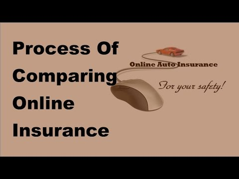 Process Of Comparing Online Insurance Quotes  - 2017 Compare Car Insurance Online