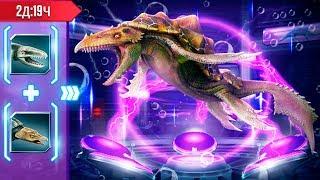 Дакодерма - Новый Водный Гибрид Jurassic World игра