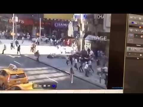 Richard Rojas mata uno atropella 22 en Time Square