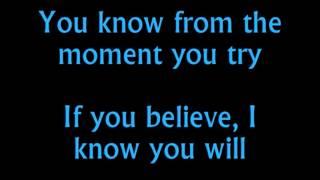 """""""Believe In Yourself"""" from The Wiz karaoke/instrumental"""