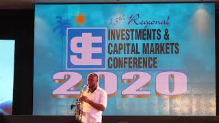 Saxophonist Verlando Small  performance - Jamaica Stock Exchange - JSE Conference 2020