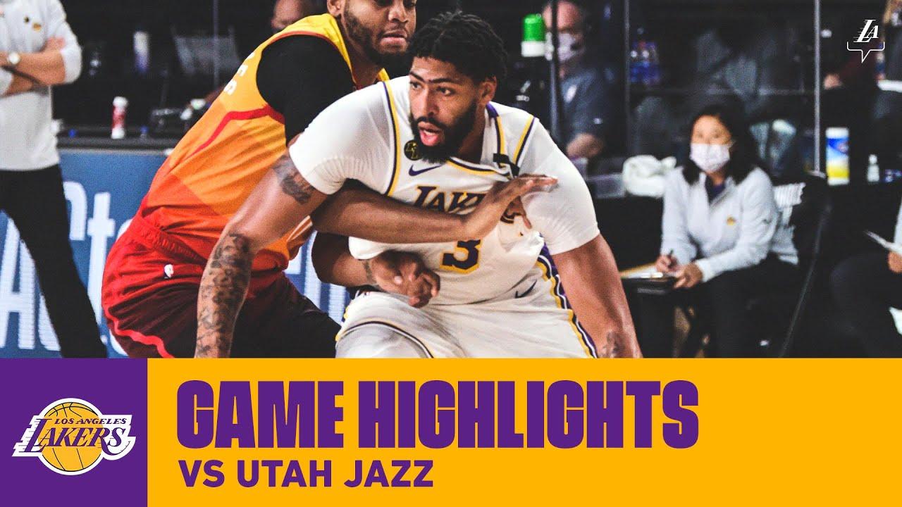 Highlights Anthony Davis 42 Pts 12 Reb 3 Stl Vs Utah Jazz Youtube