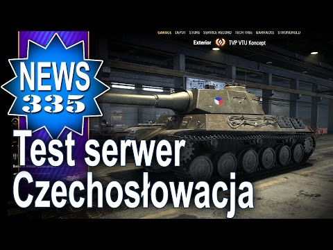 Czechosłowacja test serwer 9.13 - NEWS - World of tanks