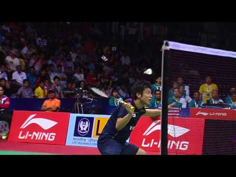 THOMAS AND UBER CUP FINALS 2014 Session 18, Match 2