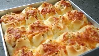 Super Fluffy Garlic Cheese Buns. Delicious!