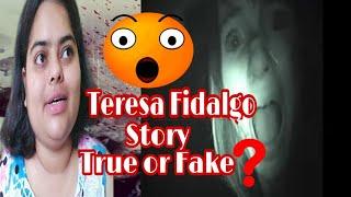 Teresa Fidalgo Ghost Real or Fake? Teresa Fidalgo Horror Story Challenge Explain in Hindi