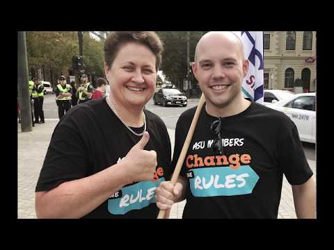 Australian services union south australia