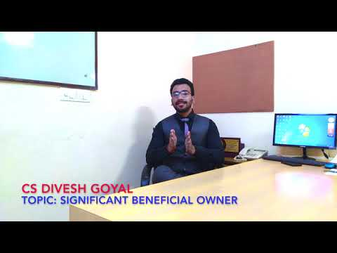 BENEFICIAL OWNER - Companies Act, 2013