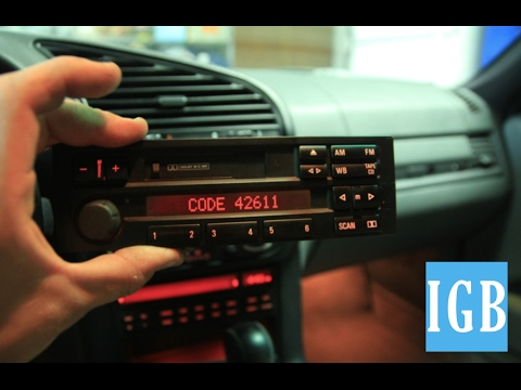 Car Radio Code Calculator Software to Generate Unlock Codes