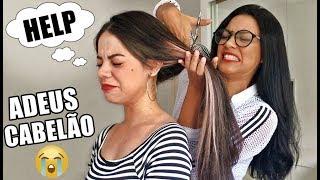 CORTEI O CABELO DA MINHA AMIGA EM CASA ft TATIANA FRAZÃO - Pérolas da J@que
