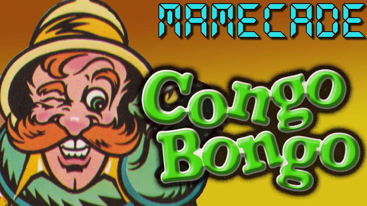 Congo Bongo Arcade Game Review MAME - MAMECADE