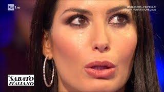 Elisabetta Gregoraci in lacrime: