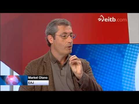 Markel Olano Egun on Euskadi ETB