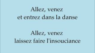 Toi + Moi - Star Académie 2012 Paroles (Version officiel de l