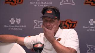 OSU Football: Mike Gundy on Texas loss