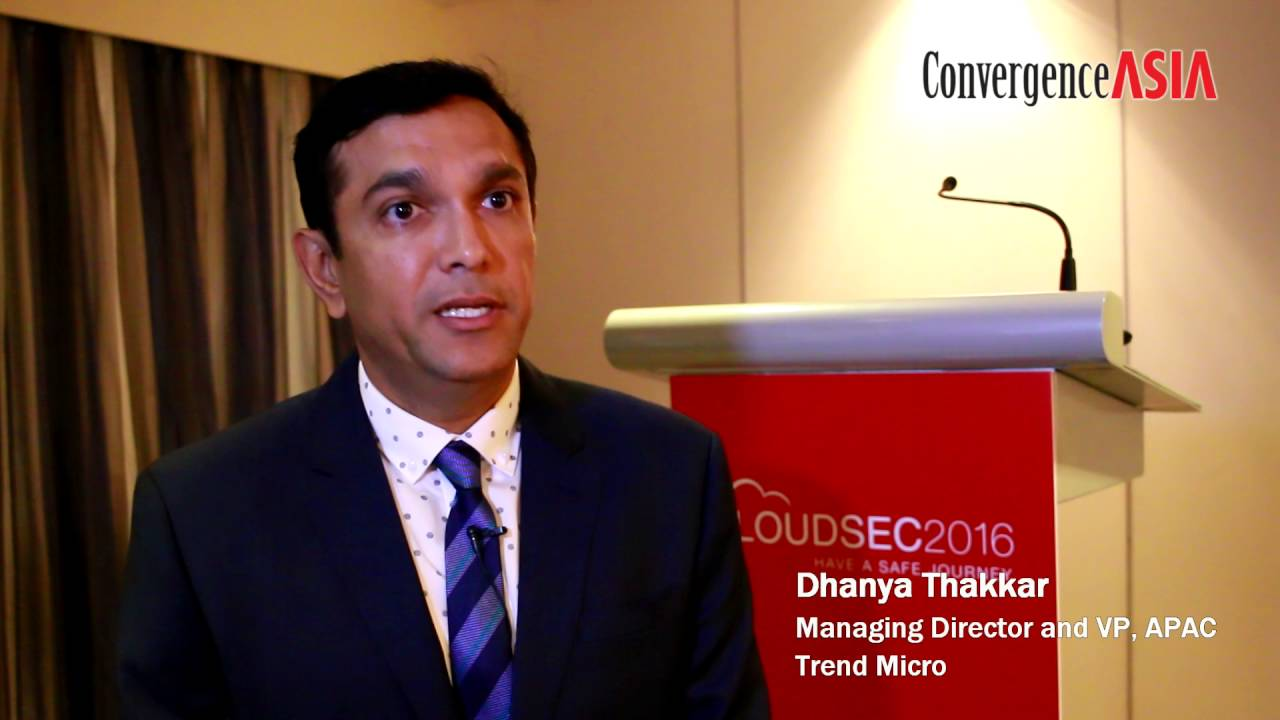 Sixty-second Insight with Dhanya Thakkar of Trend Micro - YouTube