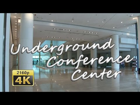 Underground Conference Centre Megaron Athens - Greece 4K Travel Channel
