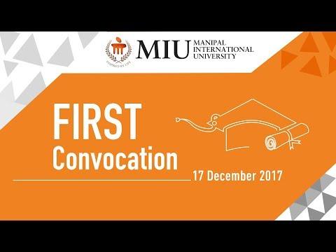 Manipal International University, First Convocation   17th Dec 2017   Sheraton PJ