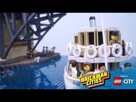 Brickman Cities- Building Sydney From LEGO® Bricks!