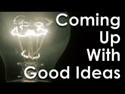 How To Come Up With Good Ideas – The Power Of The Human Mind & Critical Thinking