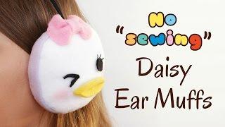 DIY Tsum Tsum Earmuffs | No Sewing Tutorial | ツムツム 自身で作ろう thumbnail